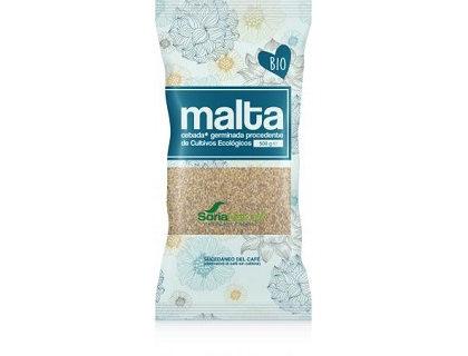 Malta de cebada bio Soria natural 500 g