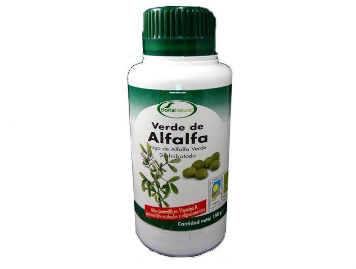 Verde de alfalfa Soria natural 300 comprimidos