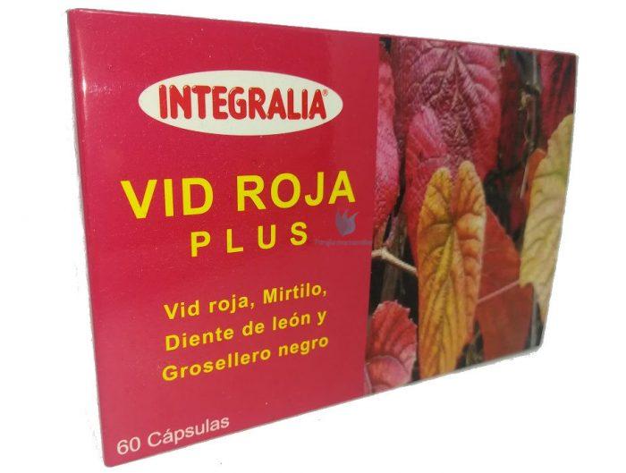vid roja plus integralia cápsulas