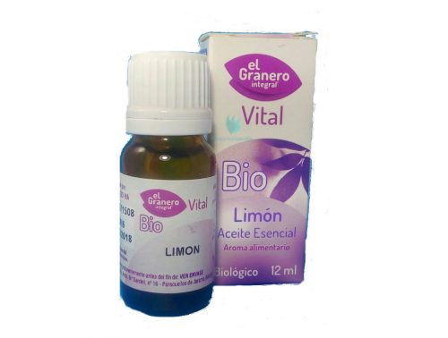 aceite esencial de limón bio el granero