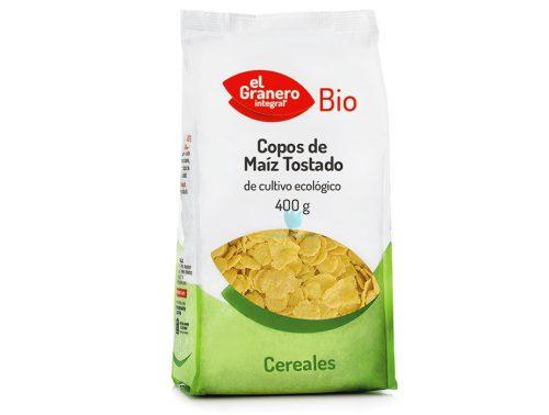 copos de maíz tostado bio 400 g el granero