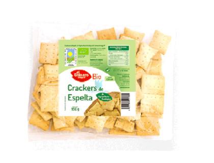 el granero crackers de espelta bio