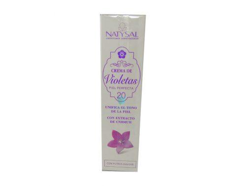 crema despigmentante violetas natysal