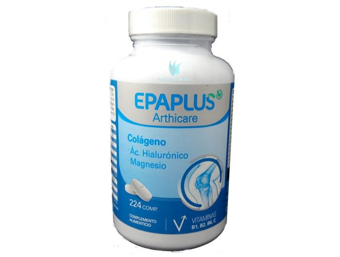 Colágeno + magnesio y hialurónico Epaplus 224 comprimidos