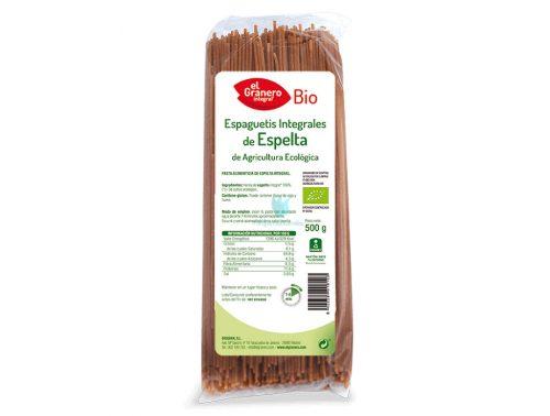 espaguetis de espelta el granero