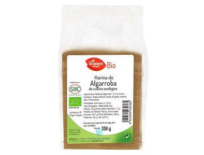 harina de algarroba bio 350 g el granero