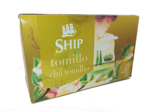 infusión tomillo ship