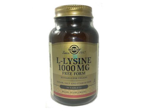 solgar L-lisina