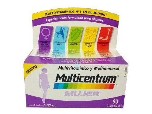 vitaminas multicentrum mujer