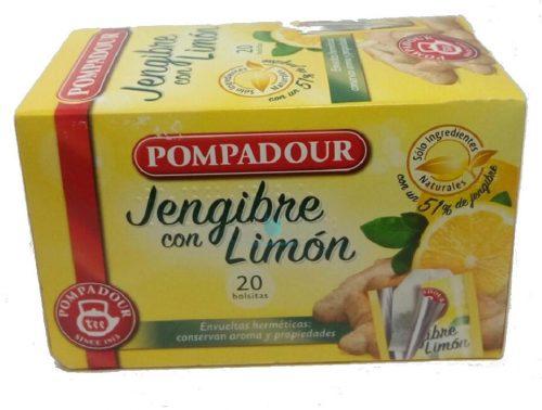 pompadur jengibre limon