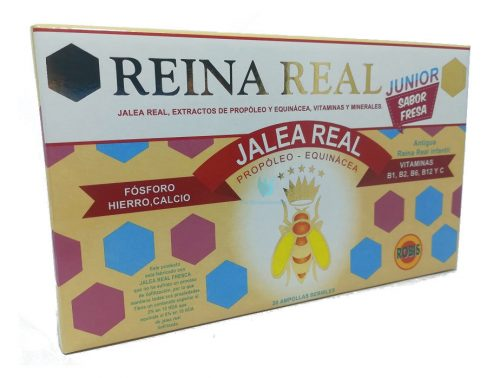 jalea real junior ampollas