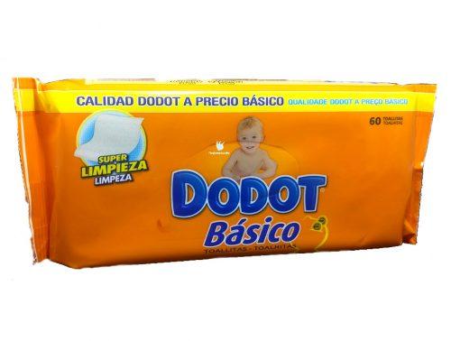 Toallitas Dodot Básico 60 toallitas