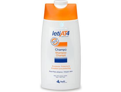 Champú para pieles Atópicas Leti AT4