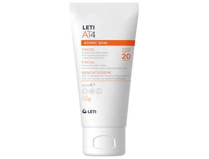 Pieles Atópicas Crema Facial Spf 20 LETI AT4 50 ml