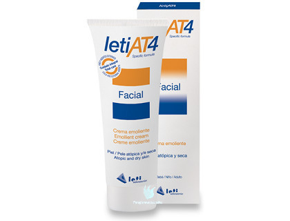 pieles atópicas crema facial leti at4