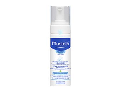 shampoo mustela para costra lactea