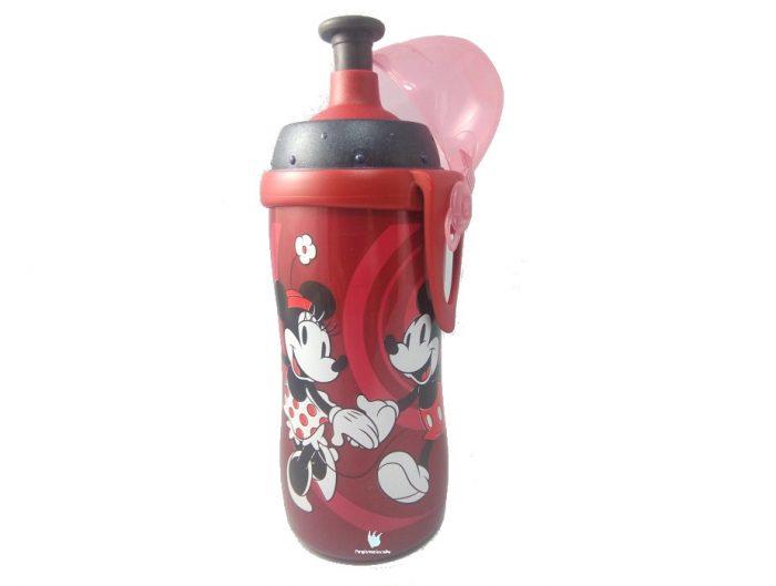 Botella Nuk Mickey con boquilla push-pull de silicona 450 ml