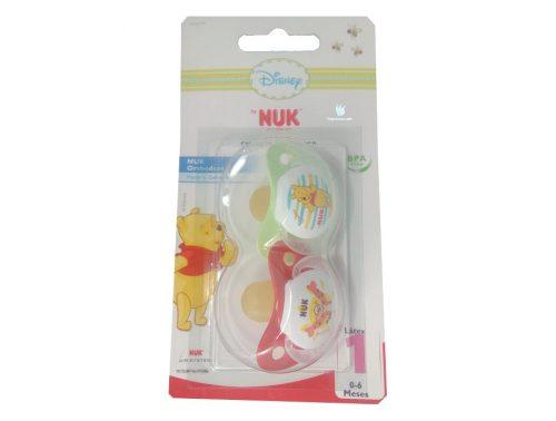 Chupete Latex Nuk 0 - 6 meses Winnie the pooh 2 unidades
