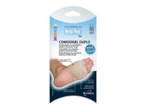 Almohadilla de silicona Comodigel Herbi feet doble protección