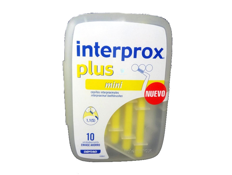 Cepillo Interdental Interprox Plus Mini 10 unidades ... f64a95c9341d