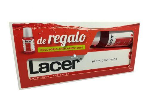Pack Lacer Anticaries Pasta de Dientes + Regalo de Colutorio
