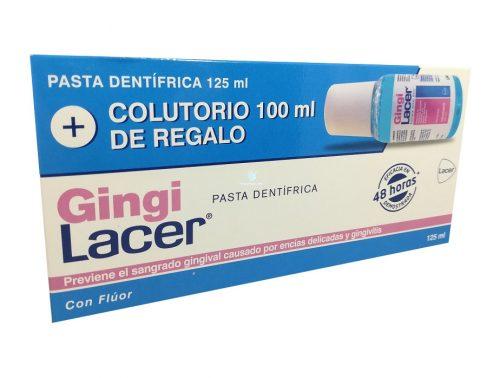 Pack Lacer GingiLacer Pasta de dientes + Colutorio de regalo
