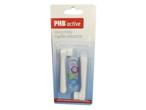 Recambios de cepillo eléctrico PHB active