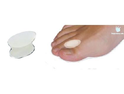 separador de dedos tipo carrete gel