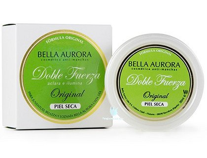 bella aurora crema antimanchas doble fuerza