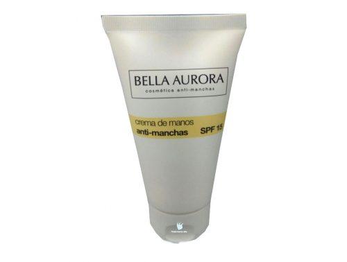 Crema de manos Antimanchas Bella Aurora Spf 15