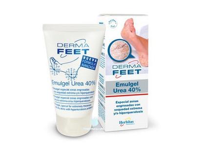Crema para pies Emulgel Urea 40 % Derma Feet