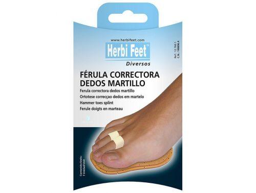 Corrector para dedo en martillo 2 dedos Herbi Feet