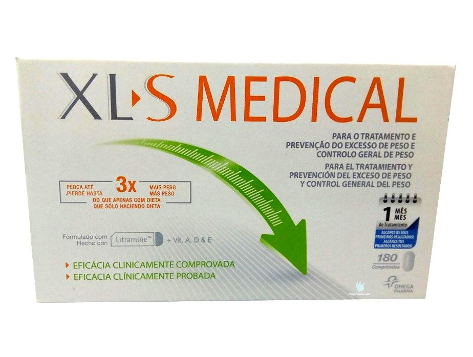 f4b298e60410 XLS Medical Captagrasas 180 comprimidos – ParaFarmaciasOnline