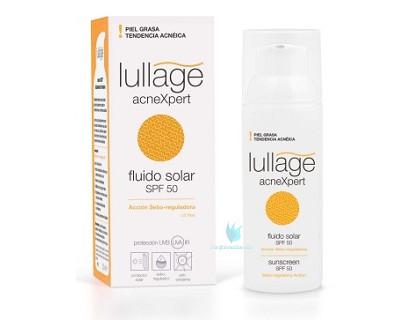 Lullage acneXpert Fluido Solar facial Spf 50 50 ml