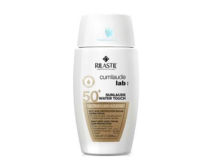 Sunlaude Protector Facial Water Touch Spf 50 Ultrafluido acuoso 50 ml
