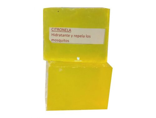 Citronela Jabón Artesanal 90 gramos