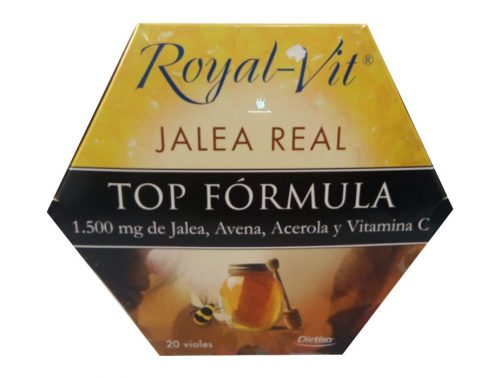 Jalea Real Top Fórmula Royal vit 20 viales