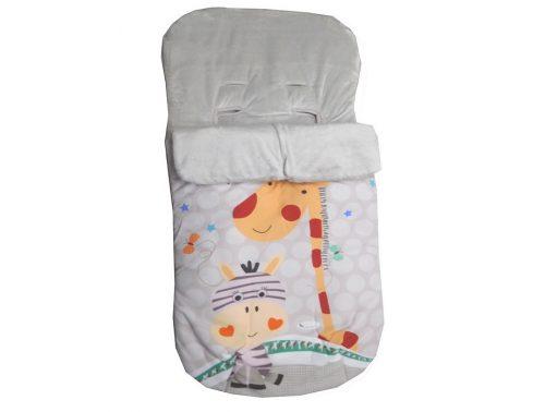 Saco Bebé impermeable estampado jirafa universal