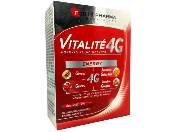 Forte Pharma Vitalité 4G Energy con Vitamina C 10 unidosis