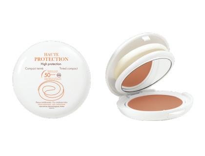 Avène Maquillaje compacto dorado con factor 50