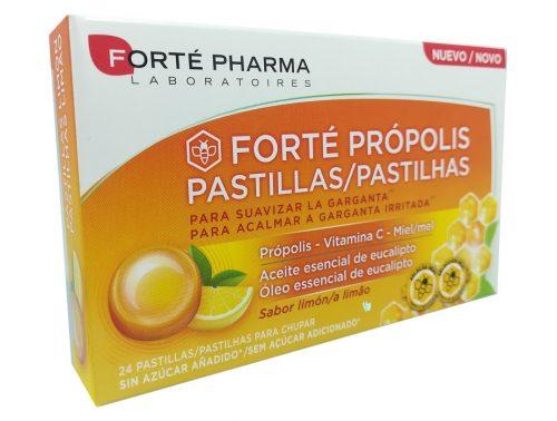 Pastillas para suavizar la garganta sabor limón Forte Pharma 24 unidades