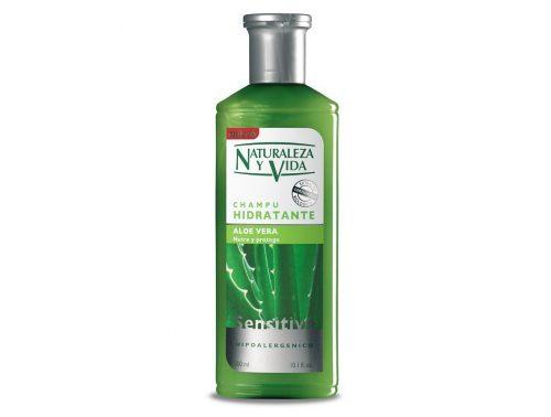 Champú Hidratante Naturaleza y Vida con Aloe vera