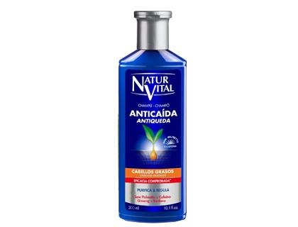 Champú Anticaída para cabello graso Naturaleza y Vida 300 ml