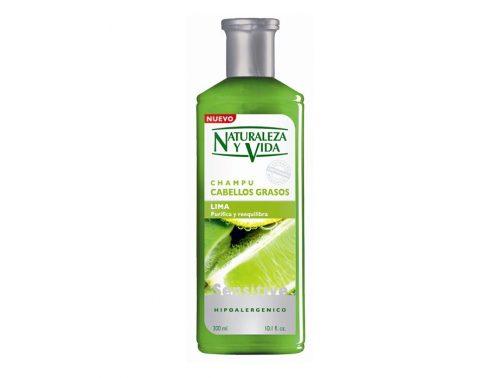 Champú para cabello graso Naturaleza y vida Lima 300 ml