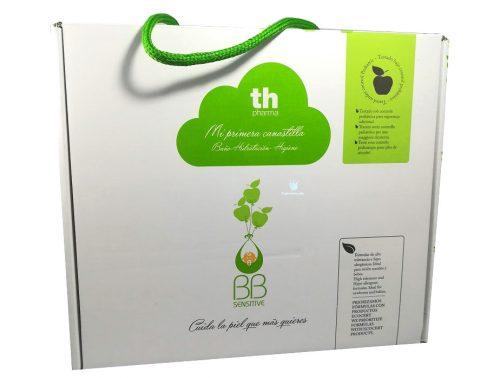 Canastilla de bebé Th Pharma Gel-champú + leche hidratante + colonia