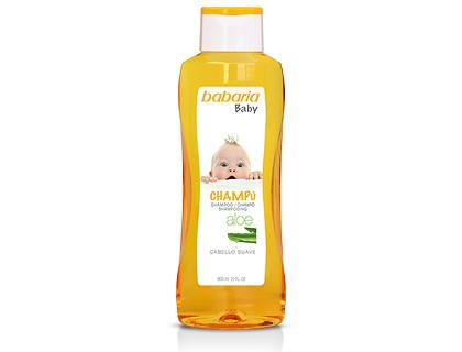 Babaria champú infantil 600 ml