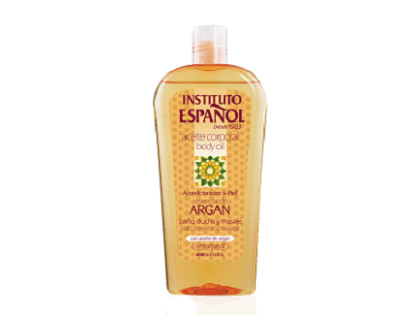 Aceite de argán corporal Instituto Español 400 ml