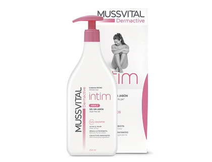 Gel íntimo Mussvital adulto Intim Adult 250 ml