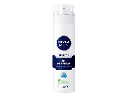 Gel de afeitar para piel sensible Nivea Sensitive