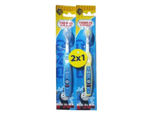 Pack 2 x 1 de cepillos de dientes +12 meses Kin